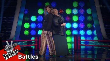Κωνσταντίνα Υφαντή vs Μαρία Αθανασιάδη - Το Σώσε | 1o Battle | The Voice of Greece