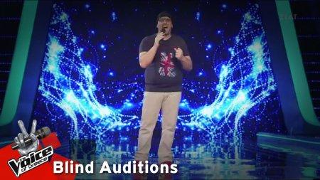 Δημήτρης Καραγιάννης - Georgia on My Mind | 12o Blind Audition | The Voice of Greece