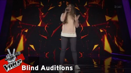 Σταματία Κλειδομύτη - Sweet Understanding Love | 12o Blind Audition | The Voice of Greece