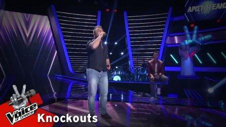 Θανάσης Κουτσιαρής - Σε θέλω | 2o Knockout | The Voice of Greece