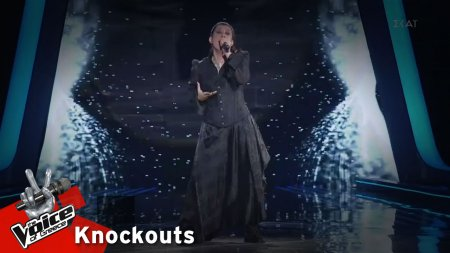Άννα Μανωλαράκη - Frozen | 1o Knockout | The Voice of Greece
