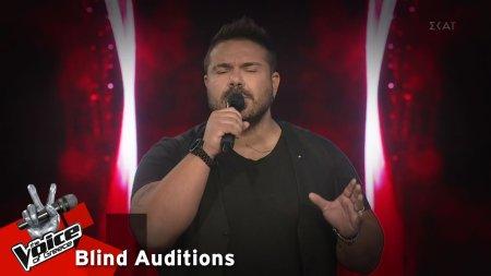 Μάνος Μακρόπουλος - Τα Σάββατα | 13o Blind Audition | The Voice of Greece