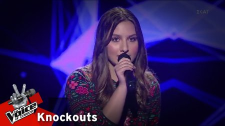 Μαρία Αισιοπούλου - I don't wanna be you anymore | 4o Knockout | The Voice of Greece