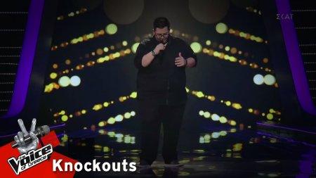 Θοδωρής Μυστιλόγλου - Επίσημη αγαπημένη  | 1o Knockout | The Voice of Greece