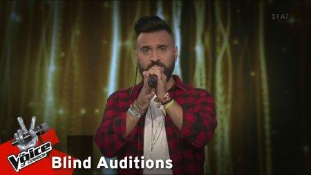 Θάνος Νικολόπουλος - Gethsemane (I Only Want To Say) | 12o Blind Audition | The Voice of Greece