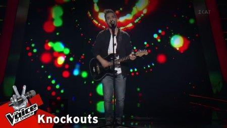 Μπάμπης Παναγιωτόπουλος - Πάνω απ' τα σύννεφα | 1o Knockout | The Voice of Greece