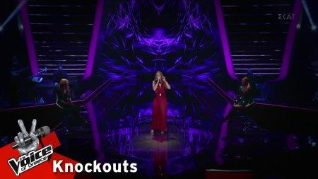 Ναταλία Πετροπούλου - Caruso | 2o Knockout | The Voice of Greece