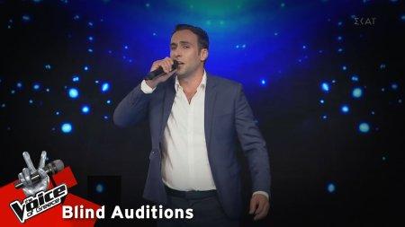 Πέτρος Σαρακάκης - Πατρίδα μ'αρεύω σε | 13o Blind Audition | The Voice of Greece