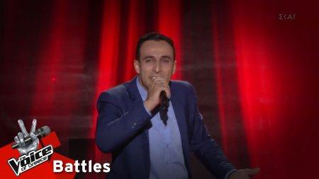 Πέτρος Σαρακάσης - Άδα σον κόσμον αγαπώ | 3o Knockout | The Voice of Greece