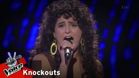 Σάρα Χαϊντάρ - Never loved a man (The way i love you) | 4o Knockout | The Voice of Greece