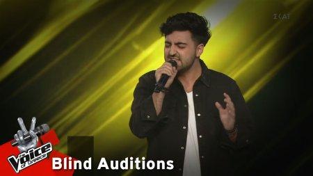 Μάριος Σελλάς - Warrior | 11o Blind Audition | The Voice of Greece