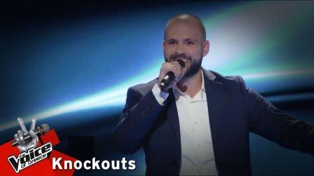 Σταύρος Τζινίδης - Χάντρα Θαλασσιά | 4o Knockout | The Voice of Greece