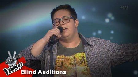 Θοδωρής Μυστιλόγλου - Ήταν πέντε ήταν έξι | 13o Blind Audition | The Voice of Greece