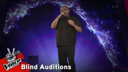 Νίκος Βανέσης - Θα εκραγώ | 12o Blind Audition | The Voice of Greece