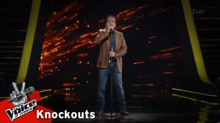 Δημήτρης Χαρίσης - Παραπονεμένα λόγια | 1o Knockout | The Voice of Greece