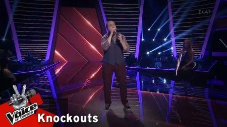 Στέλιος Χατζηαβραμίδης - Δεν είχα δύναμη | 1o Knockout | The Voice of Greece