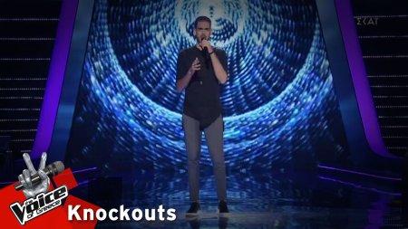 Γιώργος Χουβαρδάς - Θες | 1o Knockout | The Voice of Greece