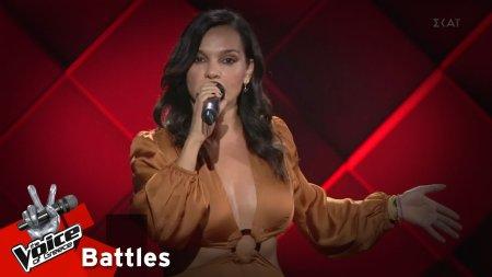 Χριστίνα Γεράνη - Φεύγω | 3o Knockout | The Voice of Greece