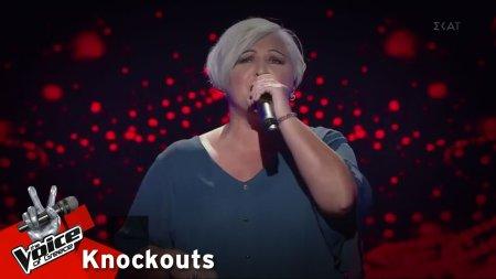 Χριστίνα Ιωάννου - Ξενύχτησα στην πόρτα σου | 4o Knockout | The Voice of Greece