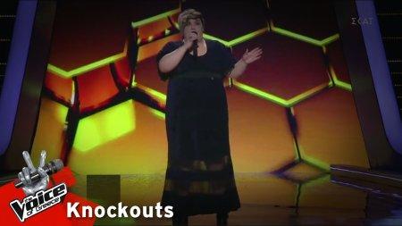 Κωνσταντίνα Υφαντή - Το σ' αγαπώ μπορεί | 2o Knockout | The Voice of Greece