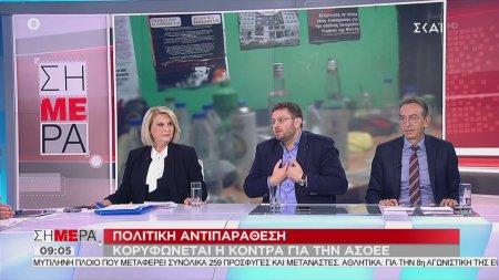 Σήμερα   Η πολιτική κόντρα για την ΑΣΟΕΕ κορυφώνεται. Έξαλλος ο Ζαχαριάδης.   14/11/2019