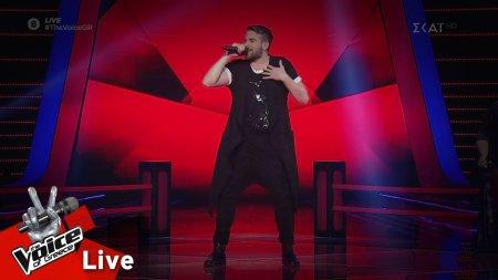 Αποστόλης Διαμαντόπουλος - 7 Rigs | 1o Live | The Voice of Greece