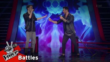 Στέφανος Χριστοφόρου vs Κωνσταντίνος Φραντζής - Billie Jean | 2o Battle | The Voice of Greece