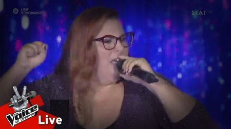 Έλλη Πλατάνου - Papa's got a brand new bag | 2o Live | The Voice of Greece