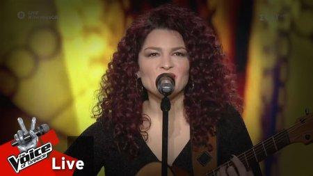 Ελπίδα Γαδ - Να ζήσω να πεθάνω | 1o Live | The Voice of Greece