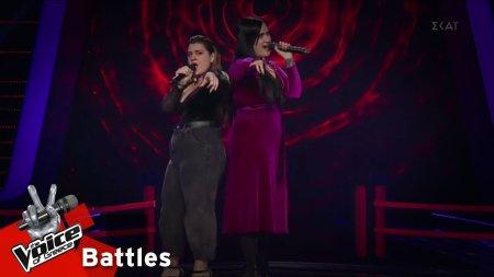 Ταμάρ Μπαρσαμιάν vs Μαρίνα Δρεσίου - Γιατί δεν έρχεσαι ποτέ | 2o Battle | The Voice of Greece