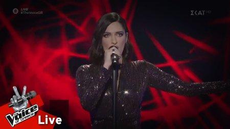 Τζόρτζια Τζελάτη - Θυμός | 2o Live | The Voice of Greece