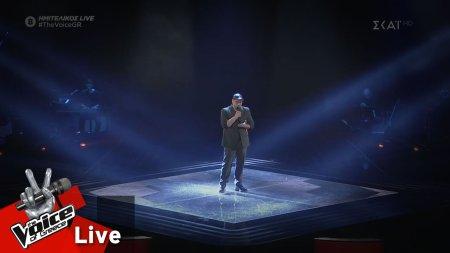 Δημήτρης Καραγιάννης - Sorry Seems to Be the Hardest Word | 2ος Ημιτελικός | The Voice of Greece