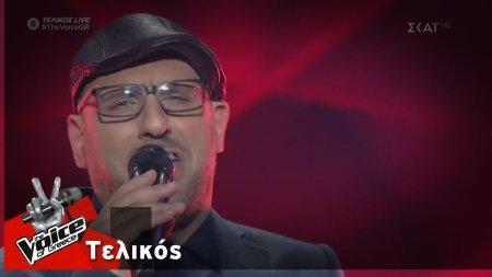 Δημήτρης Καραγιάννης - Sorry seems to be the hardest word | Τελικός | The Voice of Greece