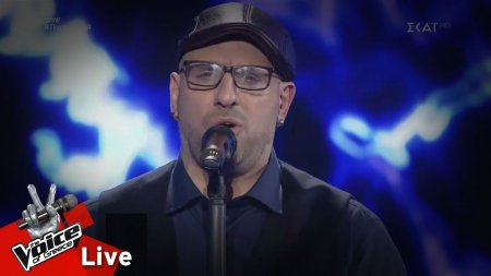 Δημήτρης Καραγιάννης  - They won't go when i go | 1o Live | The Voice of Greece