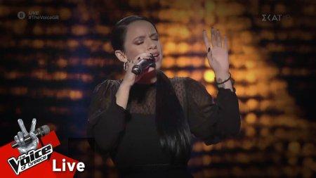 Κωνσταντίνα Κορδούλη - Κορασίν Ετραγούδαγε | 2o Live | The Voice of Greece