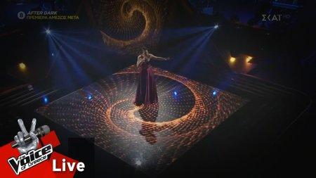 Κωνσταντίνα Κορδούλη - Φτάνει - Φτάνει | 1ος Ημιτελικός | The Voice of Greece