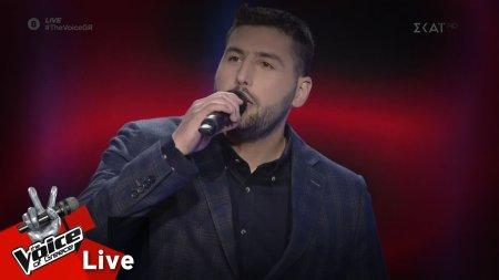 Κωνσταντίνος Μαθιουδάκης - Σ'εκδικήθηκα | 1o Live | The Voice of Greece