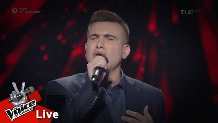 Μάκης Μέρας - Όλα σ΄αγαπάνε | 2o Live | The Voice of Greece