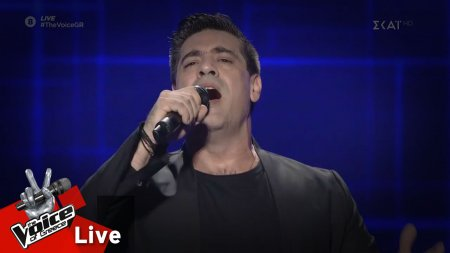 Νάσος - Ποια νύχτα σ' έκλεψε | 2o Live | The Voice of Greece