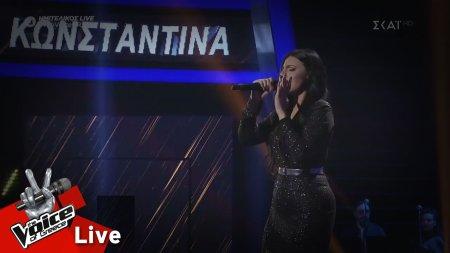 Κωνσταντίνα Παπαστεφανάκη - Όσο βαρούν τα σίδερα | 2ος Ημιτελικός | The Voice of Greece