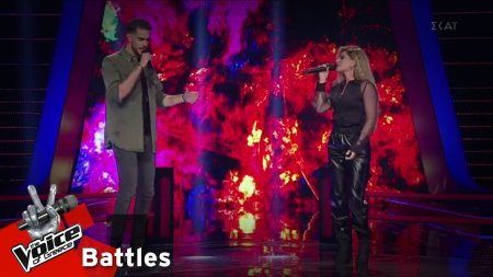 Γιώργος Χουβαρδάς vs Ειρήνη Τσοκούνογλου - Πριν το τέλος | 2o Battle | The Voice of Greece