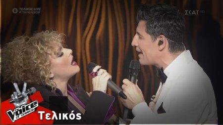 Σάκης Ρουβάς - Ελεωνόρα Ζουγανέλη | Κόψε και μοίρασε / Ξανά | Τελικός | The Voice of Greece
