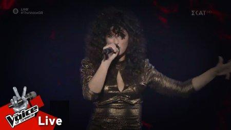 Σάρα Χάϊνταρ - Bad Guy | 2o Live| The Voice of Greece