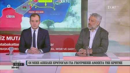 Χατζηβασιλείου και Πολλάτος σχολιάζουν τις εξελίξεις στα ελληνοτουρκικά