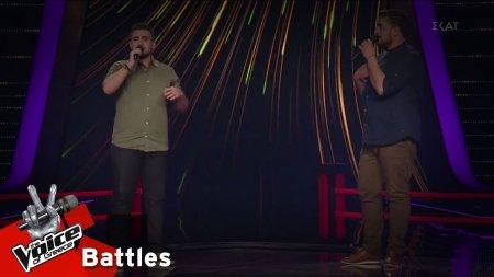 Μάκης Μέρας vs Αντώνης Αχτύπης - Θέλω να μάθω | 2o Battle | The Voice of Greece