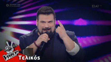 Κωνσταντίνος Τσιμούρης - Let Me Entairtain You | Τελικός | The Voice of Greece 2019
