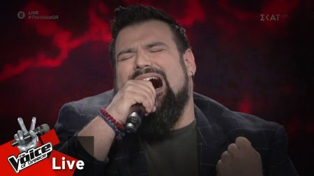 Κωνσταντίνος Τσιμούρης - Το παλιό μου παλτό | 1o Live | The Voice of Greece