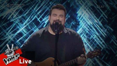 Κωνσταντίνος Τσιμούρης - Μάτια δίχως λογική | 1ος Ημιτελικός | The Voice of Greece
