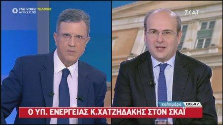 Κ. Χατζηδάκης: Ο αγωγός East Med θα προχωρήσει κανονικά ότι κι αν λέει ο Ερντογάν