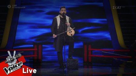 Κώστας Χειλάς - Ερωτόκριτος | 1o Live | The Voice of Greece